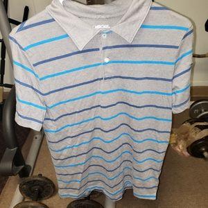 Boys XL Cherokee striped polo tshirt